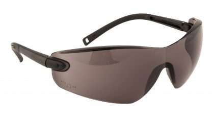 Frameless Safety Glasses - Portwest PW34, Smoke