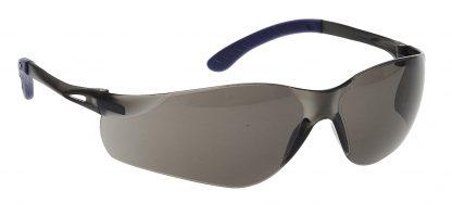 Pan View Safety Glasses - Portwest PW38, Smoke
