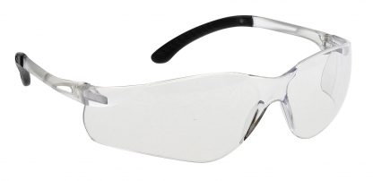 Pan View Safety Glasses - Portwest PW38, Clear