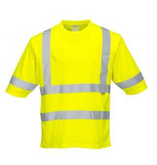 Dayton High Visibility T-shirt - Portwest S393, Front