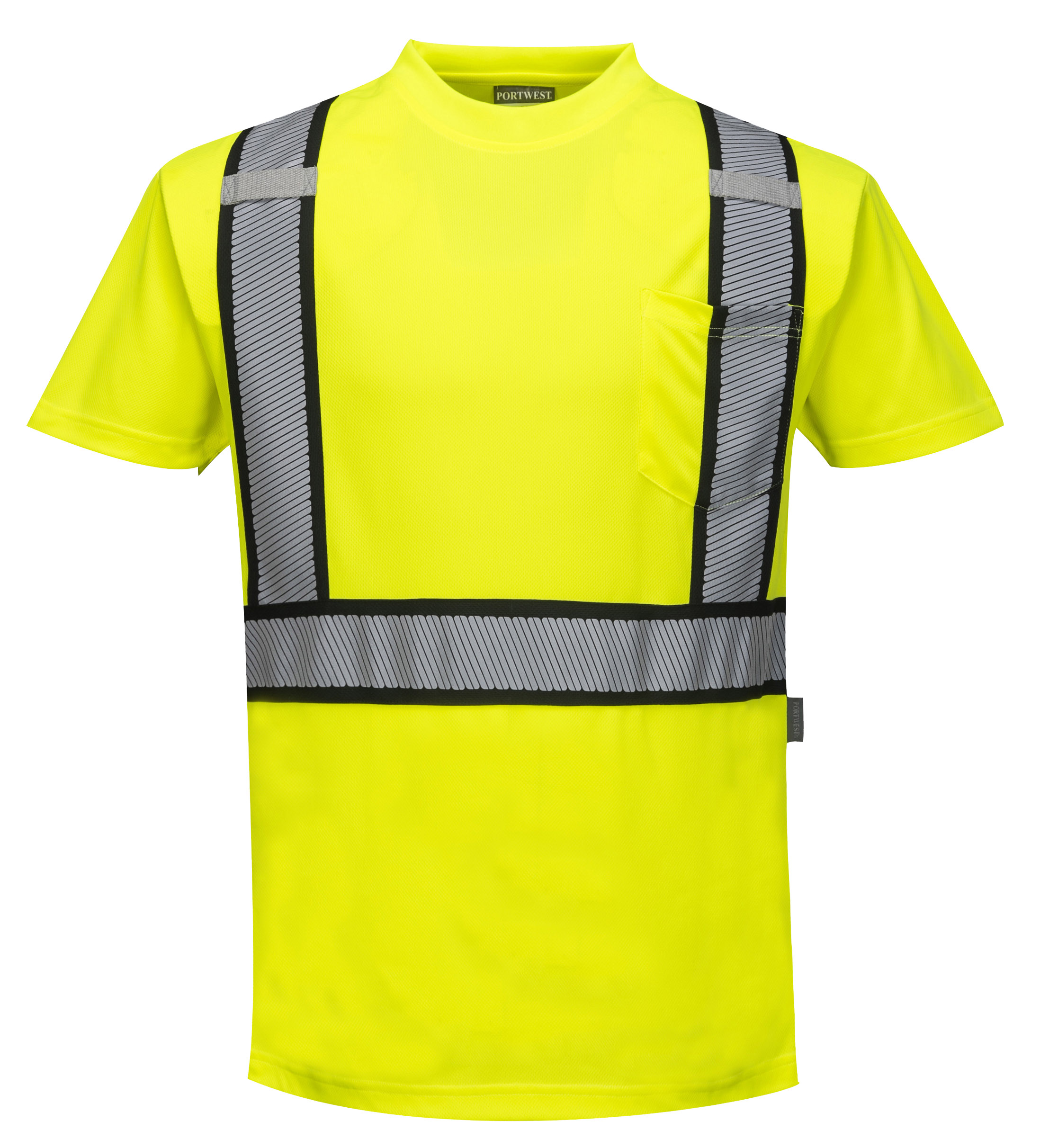 be87d4072a9 Detroit High Visibility T-shirt - Portwest S395 — iWantWorkwear
