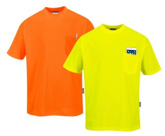 Non-rated High Visibility T-shirt - Portwest S578, Mix