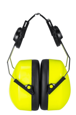 Endurance High Visibility Clip-on Ear Muffs - Portwest PS47