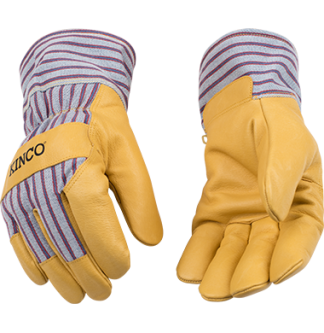 Cold Weather Pigskin Palm Gloves - Kinco 1927