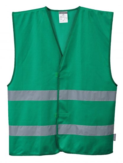 Iona Reflective Safety Vest - Portwest F474, Seagreen