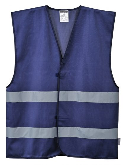 Iona Reflective Safety Vest - Portwest F474, Navy