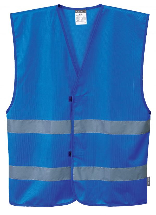 Iona Reflective Safety Vest - Portwest F474, Blue