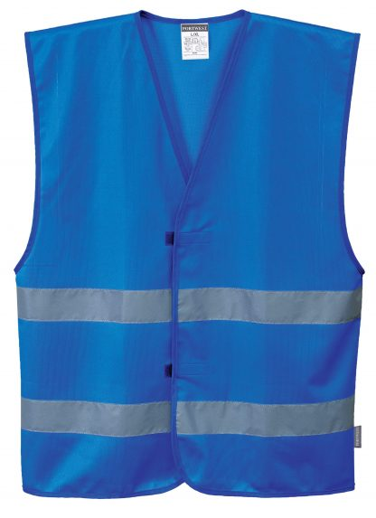 Iona Reflective Safety Vest - Portwest F474, Blue