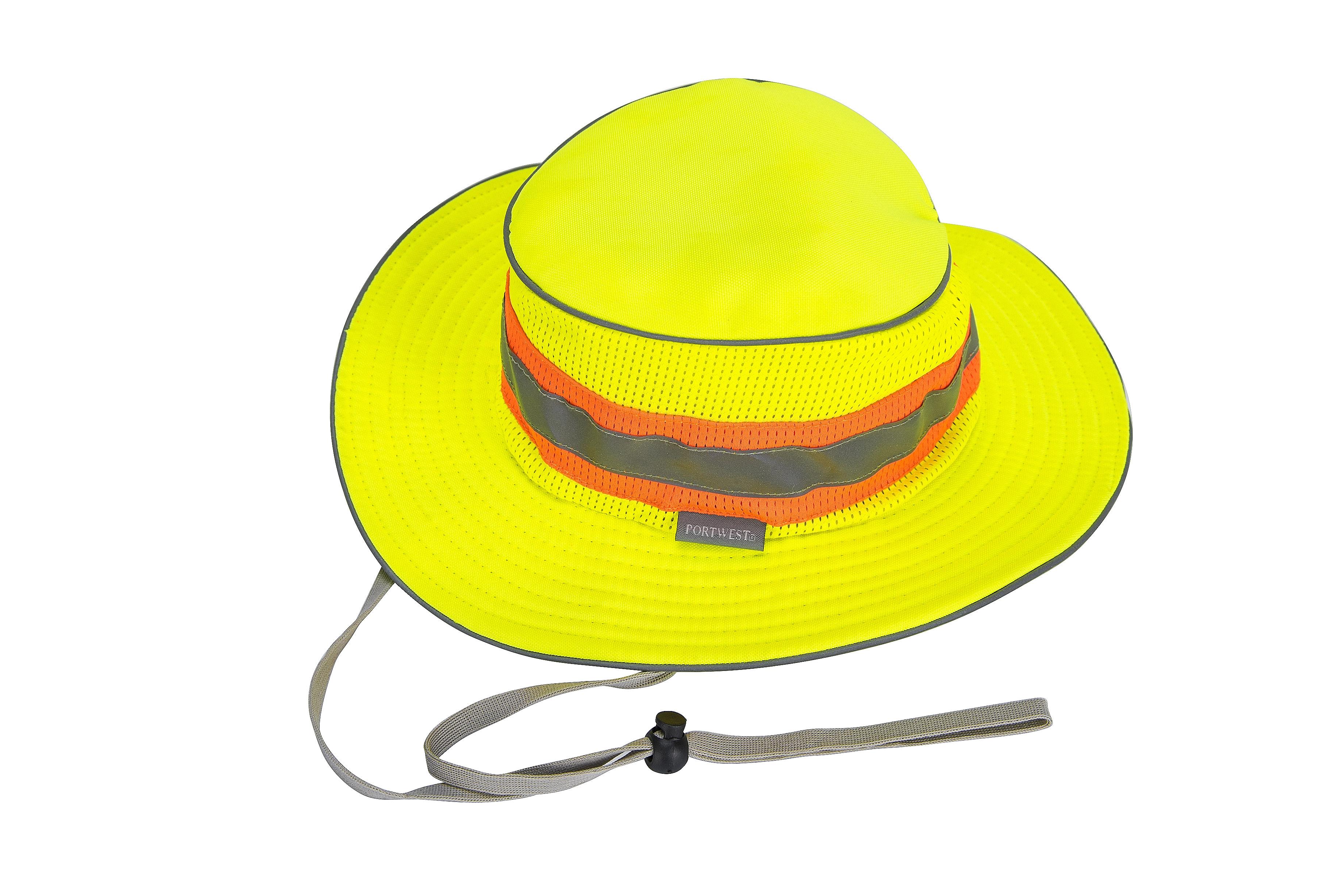 e80668b6cf19f9 High Visibility Ranger Hat - Portwest HA15 — iWantWorkwear