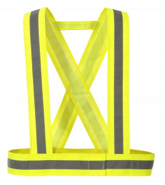 High Visibility Torso Straps - Portwest HV55, Yellow