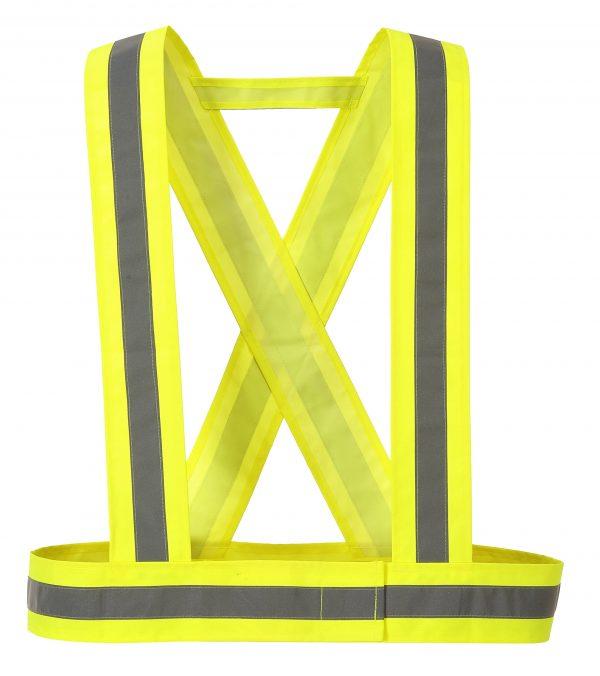 High Visibility Torso Straps - Portwest HV55, Yellow
