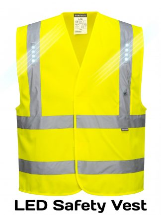 Vega LED High Visibility Vest - Portwest L470