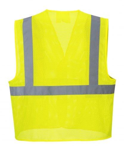 High Visibility Mesh Safety Vest - Portwest UC492, Back