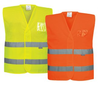 High Visibility Mesh Safety Vest - Portwest UC494