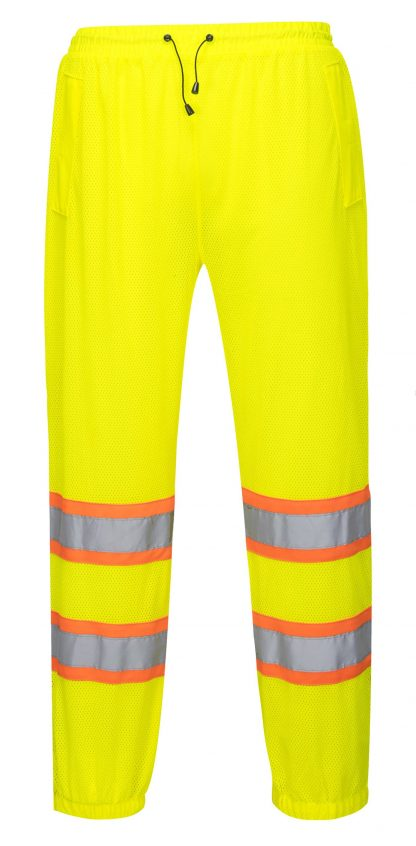 High Visibility Mesh Overpants - Portwest US386, Front