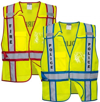 Breakaway Public Safety Vest - Portwest US387, Fire or Police