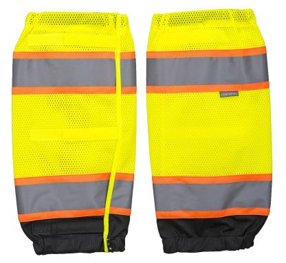 Two-tone High Visibility Leg Gaiters - Portwest US389, Yellow