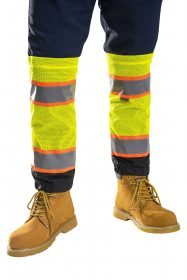 9ff53d7dae4 Two-tone High Visibility Leg Gaiters - Portwest US389.  7.50 · Reflective  Fire Resistant Hard Hat Sun Shield - ML Kishigo FM2804