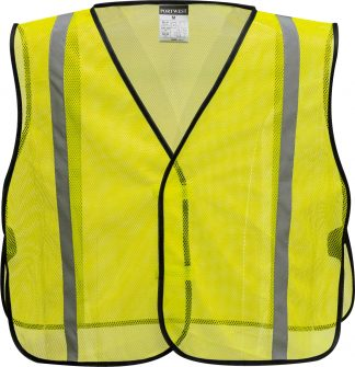Non-ANSI Economic High Vis Vest - Portwest US390, Front