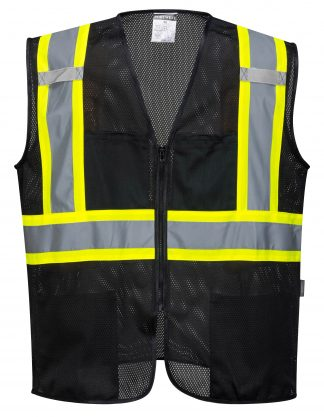 Iona Xtra Mesh Safety Vest - Portwest US391, Front