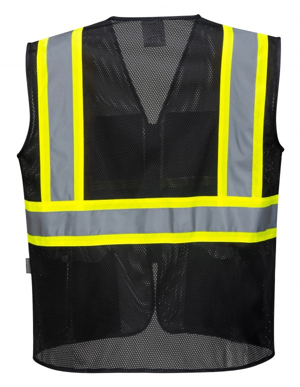 Iona Xtra Mesh Safety Vest - Portwest US391, Rear