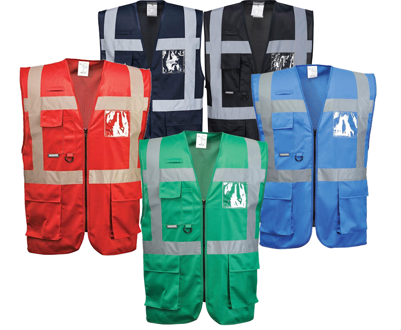 Iona Reflective Executive Safety Vest Portwest Uf476