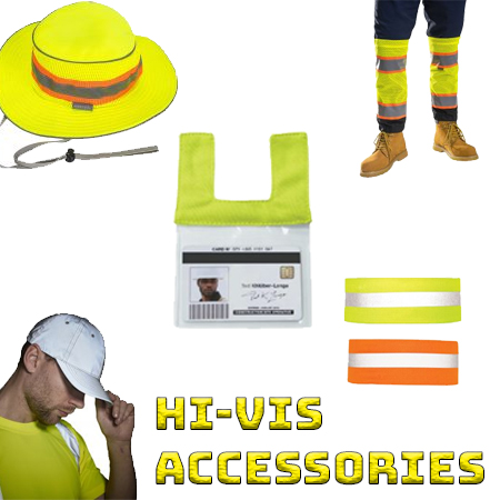 High visibility accessories from iwantworkwear workwear store