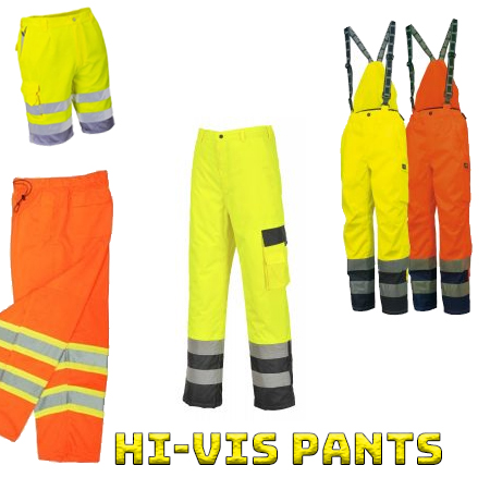 High visibility pants from iwantworkwear workwear store
