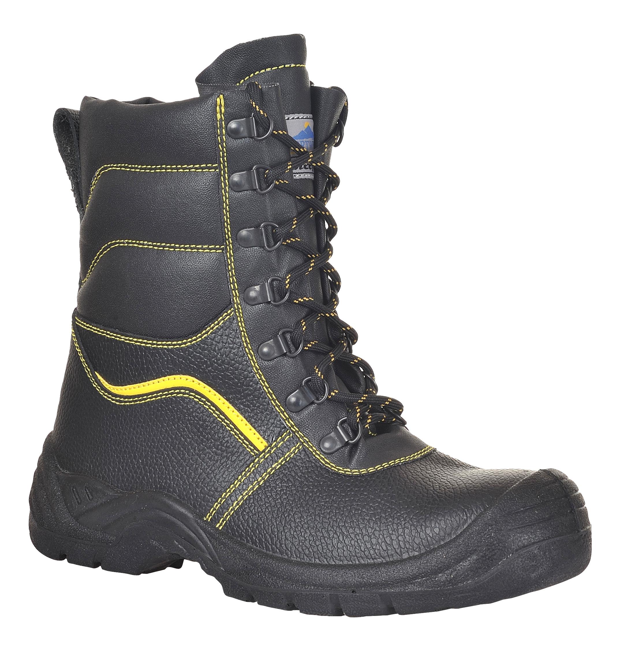 FW05 Fur-lined Steel Toe Winter Boot