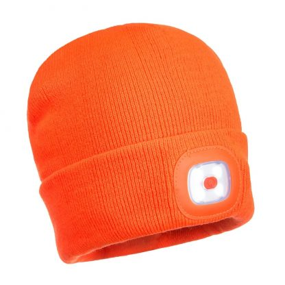 PORTWEST B029 LED BEANIE ORANGE