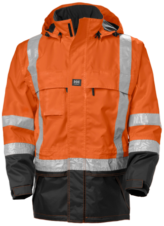 Helly Hansen POTSDAM 71389 Jacket, Orange, Front