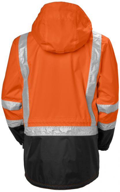 Helly Hansen POTSDAM 71389 Jacket, Orange, Back