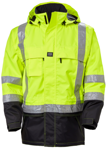 Helly Hansen POTSDAM 71389 Jacket, Yellow, Front