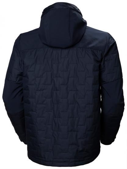 Helly Hansen 73230 KENSINGTON HOODED Jacket, Navy Back