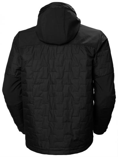 Helly Hansen 73230 KENSINGTON HOODED Jacket, Black back