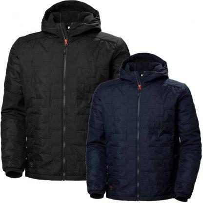 Helly Hansen 73230 KENSINGTON HOODED Jacket, Navy and Black