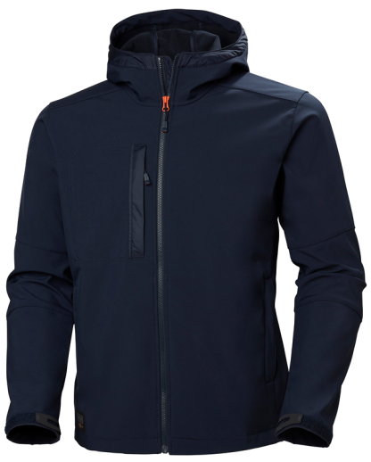 Helly Hansen 74230 Navy Softshell Jacket Front