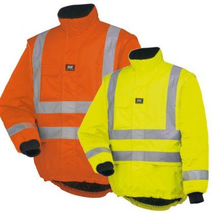 Helly Hansen POTSDAM LINER JACKET - Orange and Yellow, Main, iWantworkwear