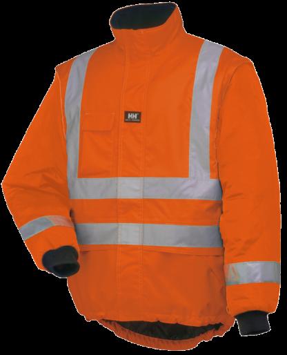 Helly Hansen POTSDAM LINER JACKET - Orange and Yellow, Main, iWantworkwear ORange 1