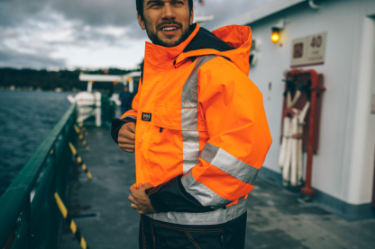 Helly Hansen POTSDAM 71389 Jacket, Orange on body 2