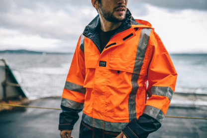 Helly Hansen POTSDAM 71389 Jacket, Orange on body