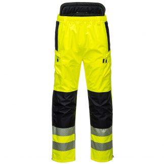 PW342 - PW3 Hi-Vis Extreme Rain Pants - front