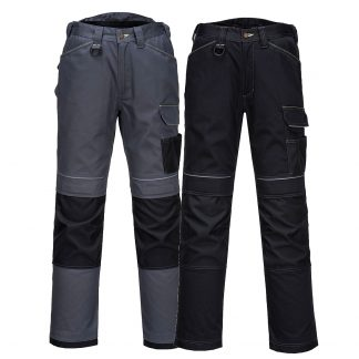 T601 - PW3 Work Pants - grey and black